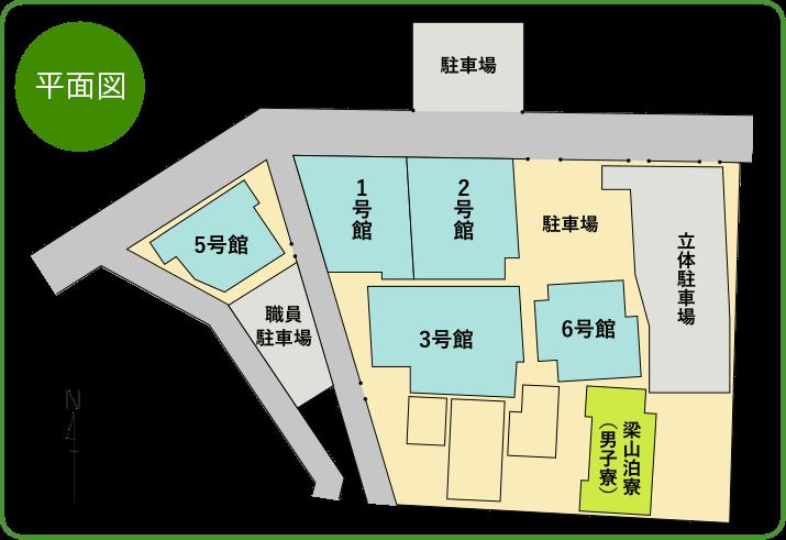 本校平面図